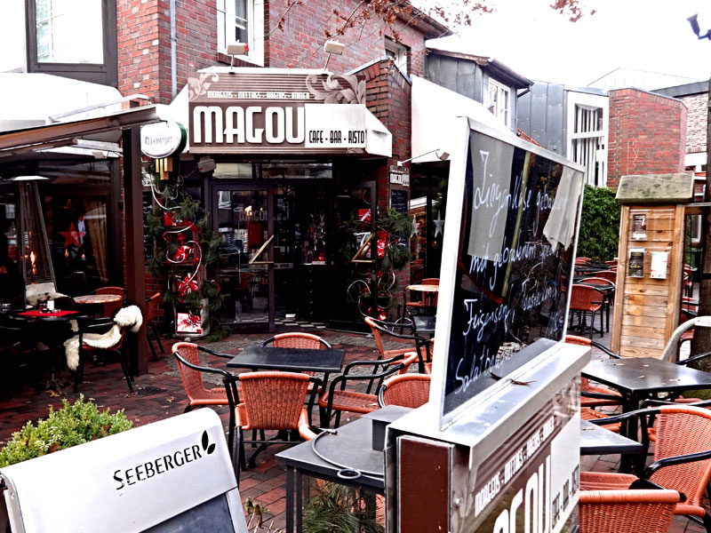 magou cafe und restaurant bad zwischenahn. Black Bedroom Furniture Sets. Home Design Ideas